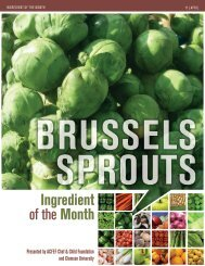 Brussels Sprouts - Clemson University