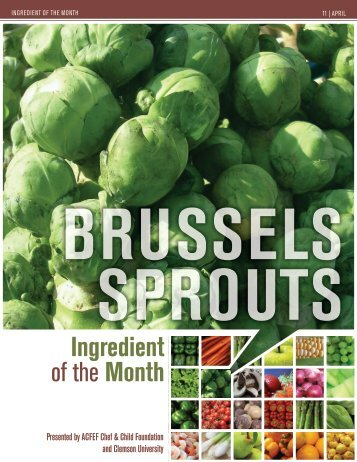 Brussels Sprouts - Clemson University