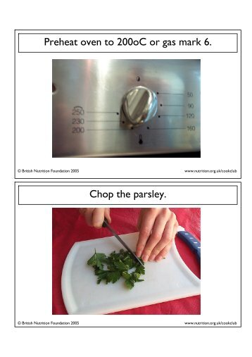 A5 recipe cards with instructionspdf food a fact of life forumfinder Choice Image