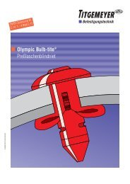 Olympic Bulb-tite® Preßlaschenblindniet - Tu-val