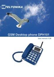 GSM Desktop phone DPH101 - Teltonika