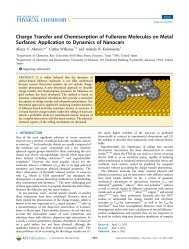 Charge Transfer and Chemisorption of Fullerene Molecules on ...