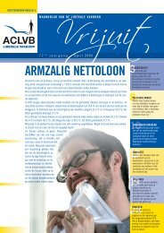 ARMZALIG NETTOLOON - Aclvb