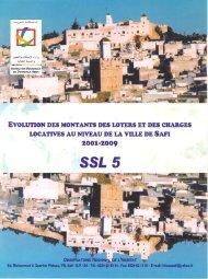 SSL Safi 2001-2009.pdf - Ministère de l'Habitat, de l'urbanisme et de ...