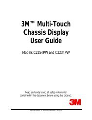 User Manual - Touch Screens Inc.