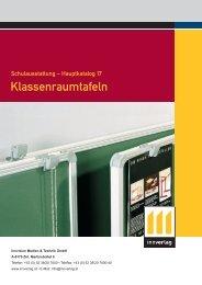 Klassenraumtafeln - innverlag
