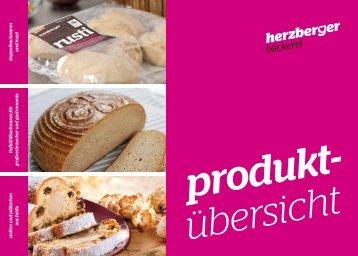 Sortimente - Herzberger Bäckerei GmbH