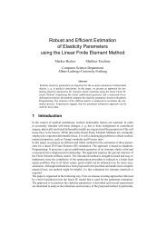 Robust and Efficient Estimation of Elasticity Parameters ... - CiteSeerX
