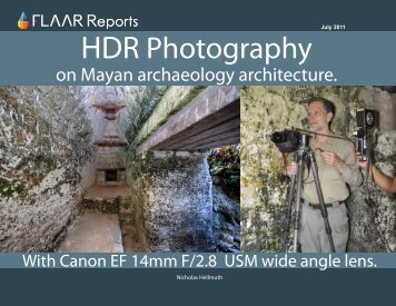 HDR Photography - Maya Archaeology