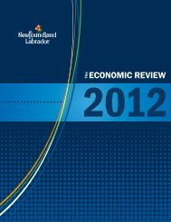 The Economic Review 2012 - Economic Research - Government of ...