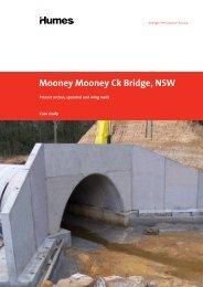 Precast arches for Mooney Mooney Ck Bridge, NSW - Case ... - Humes