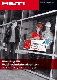 Recruiting-Broschüre (PDF) - Staufenbiel.ch