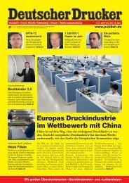 Europas Druckindustrie im Wettbewerb mit China - Hubertus Wesseler