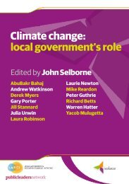 Climate change - Local Government Managers Australia