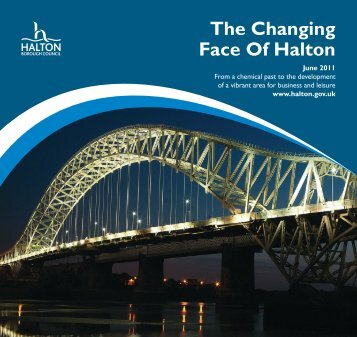 The Changing Face Of Halton - Halton and St Helens PCT