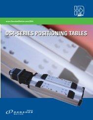 Kollmorgen DS4 & DS6 Precision Tables.pdf - Motion Technologies