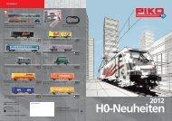 Piko H0 Neuheiten 2012 - Modellbahnshop Sebnitz