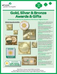 Gold, Silver & Bronze Awards & Gifts