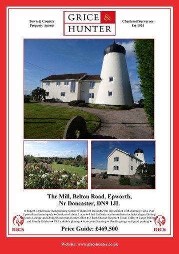The Mill, Belton Road, Epworth - Grice & Hunter