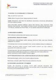 Yhtiökokouksen pöytäkirja 2013.pdf - Tecnotree