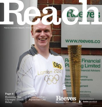 Reach - Issue 5 - Reeves