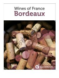 Wines of France: Bordeaux - Approach Guides
