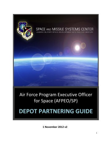 DEPOT PARTNERING GUIDE - Los Angeles Air Force Base