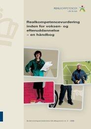 Realkompetencevurdering inden for voksen- og efteruddannelse ...