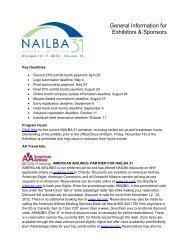 General Info PDF - NAILBA