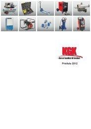 Prisliste 2012 - KGK A/S
