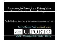 Recuperação Ecológica e Paisagística da Mata de Lever Porto ...