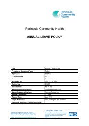 Annual Leave Policy