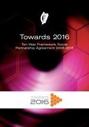 Towards 2016 - Department of Taoiseach