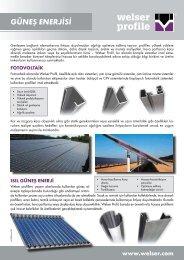 Güneş Enerjisi Sektörü Bilgi FormuPDF, 377,42 kB