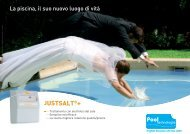 JUSTSALT®+ - Pool Technologie