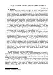 CIÊNCIA E MÉTODO NA HISTÓRIA DO PENSAMENTO ...