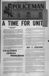 October 1975 - San Francisco Police Officers Association