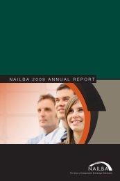 nailba 2009 annual RepoRt