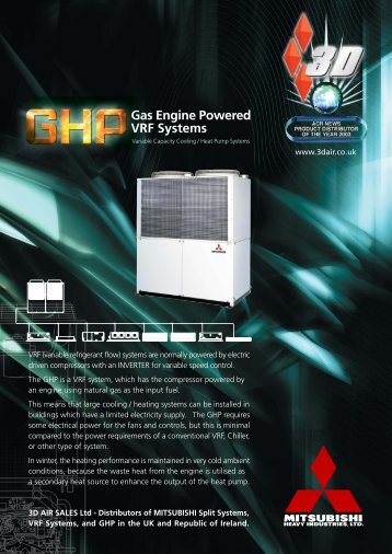 8pp GHP BROCHURE - Mitsubishi Heavy Industries Ltd.