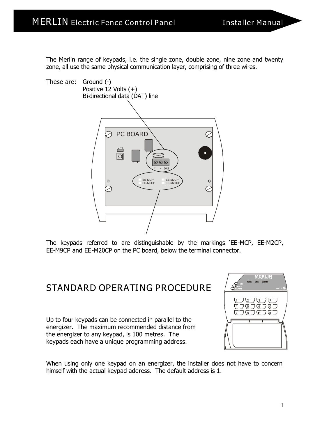 Merlin electric fence wiring diagram safety