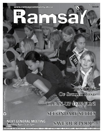 April 2011 - Ramsay Community Association in Calgary