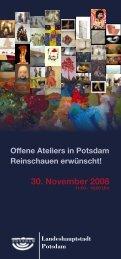 30. November 2008 - artEfakt Potsdam