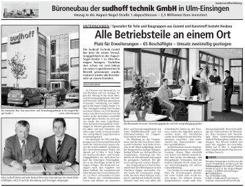 Büroneubau (ca. 2 MB) - sudhoff technik GmbH