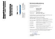 Betriebsanleitung der Kompakt-Dosiereinheit Typ - Werucon ...