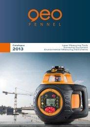 Catalogue Laser Measuring Tools Surveying Equipment ...