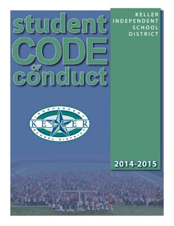 Student Code of Conduct - Keller ISD