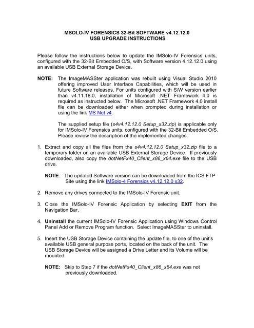 IMSOLO-IV Forensic Software v4 12 12 0 USB - ICS-IQ com