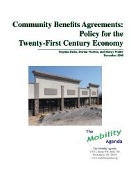 Community Benefits Agreements - School of International and Public ...