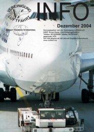 Dezember 2004 - Vereinigung Luftfahrt eV