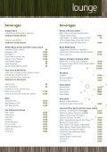 Lounge bar Menu - Novotel London West - Page 4